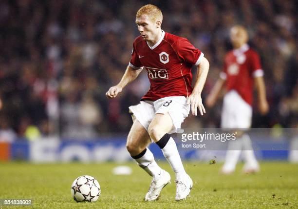 Paul SCHOLES Manchester United / Milan Ac 1/2 finale Champions League