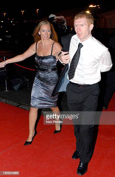 Paul Scholes during United for UNICEF Gala Dinner Arrivals at Old Trafford Manchester United Football Club in Manchester Great Britain