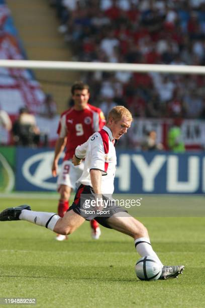 Paul SCHOLES of England during the European Championship match between England and Switzerland at Estadio Cidade de Coimbra, Coimbra, Portugal on 17...