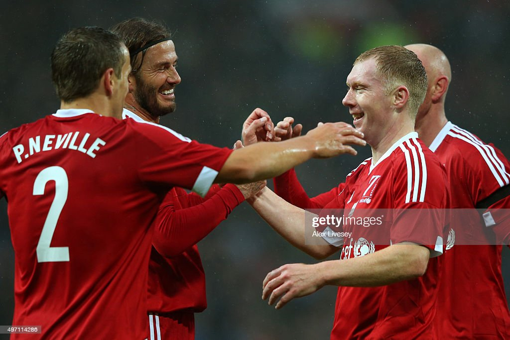 David Beckham Match for Children in aid of UNICEF : News Photo