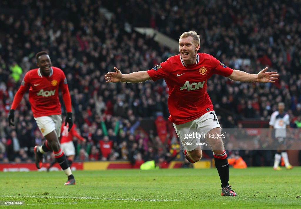 Manchester United v Bolton Wanderers - Premier League : News Photo