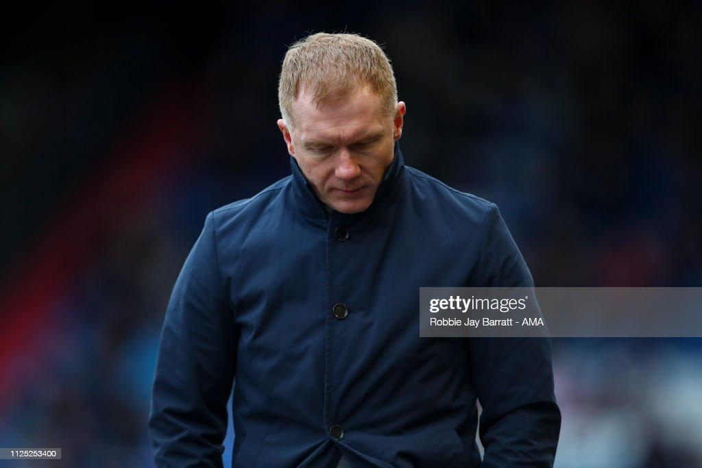 Oldham Athletic v Crew Alexandra - Sky Bet League Two : News Photo