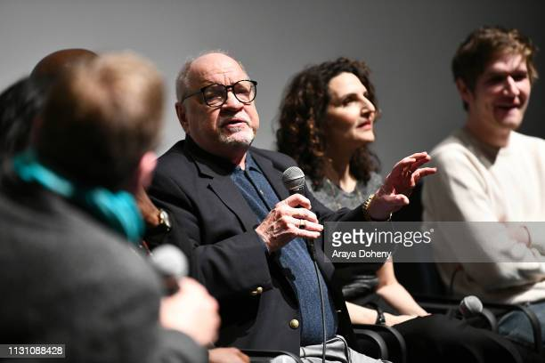 Paul Schrader at Film Independent Directors Close Up The Independent Spirit A Directors Roundtable at The Landmark on February 20 2019 in Los Angeles...
