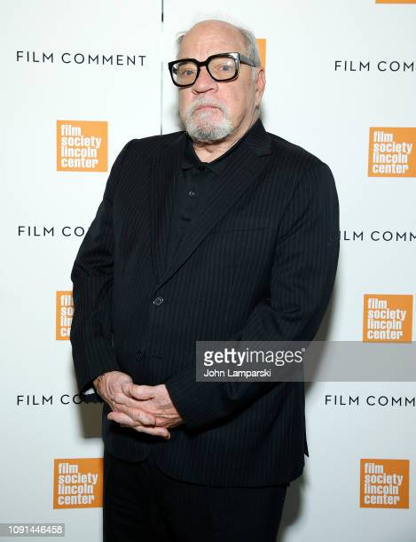 Paul Schrader attends Film Society of Lincoln Center Film Comment Annual Luncheon at Lincoln Ristorante on January 08 2019 in New York City
