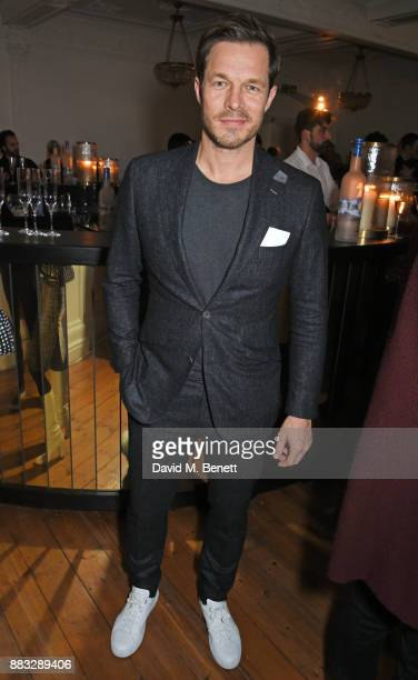 Paul Sculfor attends a party hosted by NETAPORTER and MR PORTER to celebrate the festive season in style at One Horse Guards on November 30 2017 in...