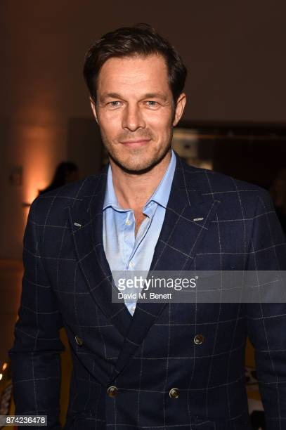 Paul Sculfor attends a private view of the 'Ferrari Under The Skin' exhibition hosted by Deyan Sudjic and Alice Black Directors of the Design Museum...