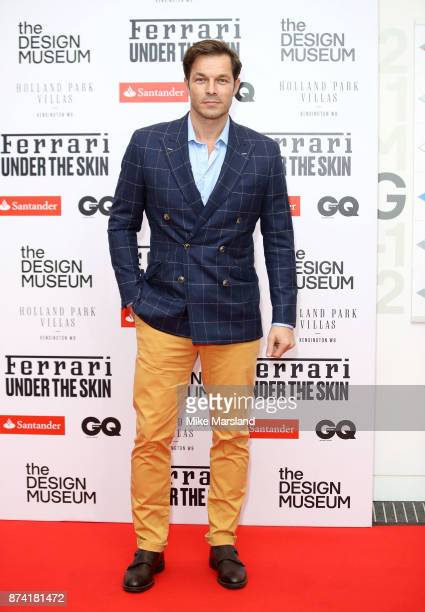 Paul Sculfor attends Ferrari Under the Skin hosted by Deyan Sudjic and Alice Black Directors of the Design Museum and Dylan Jones Editor of GQ at the...