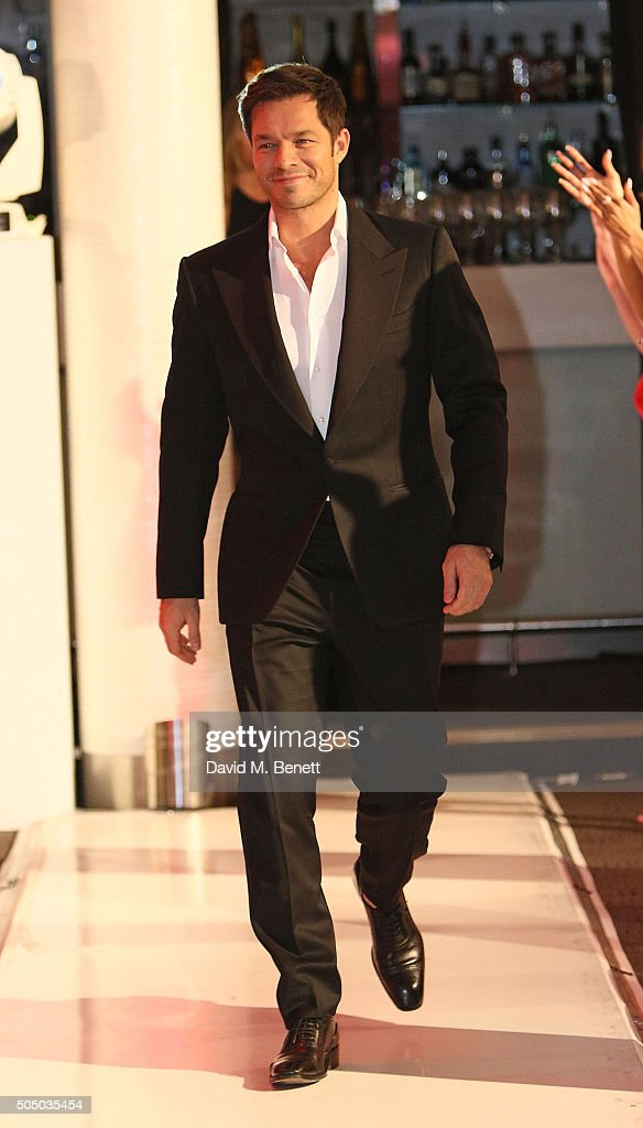Paul Sculfor attends Lifetime's launch of Britain's Next Top Model airing tonight at 9pm on Lifetime at Kensington Roof Gardens on January 14, 2016 in London, England.