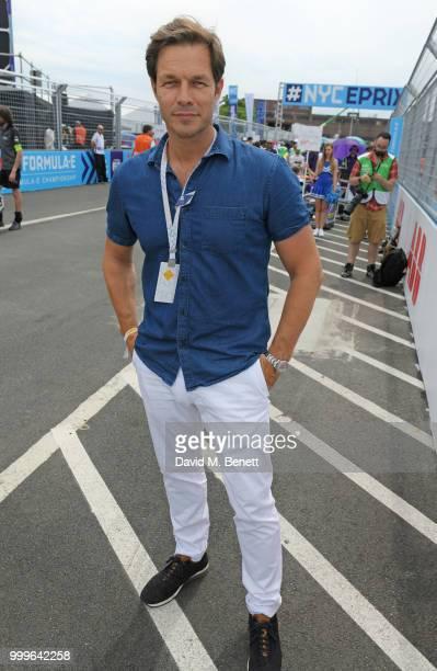 Paul Sculfor attends the Formula E 2018 Qatar Airways New York City E-Prix, the double header season finale of the 2017/18 ABB FIA Formula E...