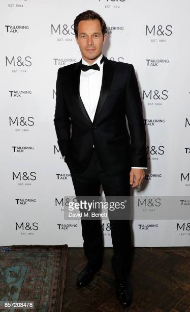 Paul Sculfor attends the MS Tailoring Talk on October 3 2017 in London England