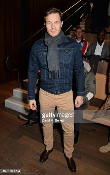 Paul Sculfor attends the Oliver Spencer Autumn/Winter 2019 Catwalk Show during London Fashion Week Men's January 2019 at The Royal Academy on January...