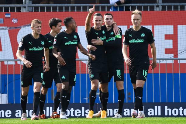 DEU: Holstein Kiel v SpVgg Greuther Fürth - Second Bundesliga