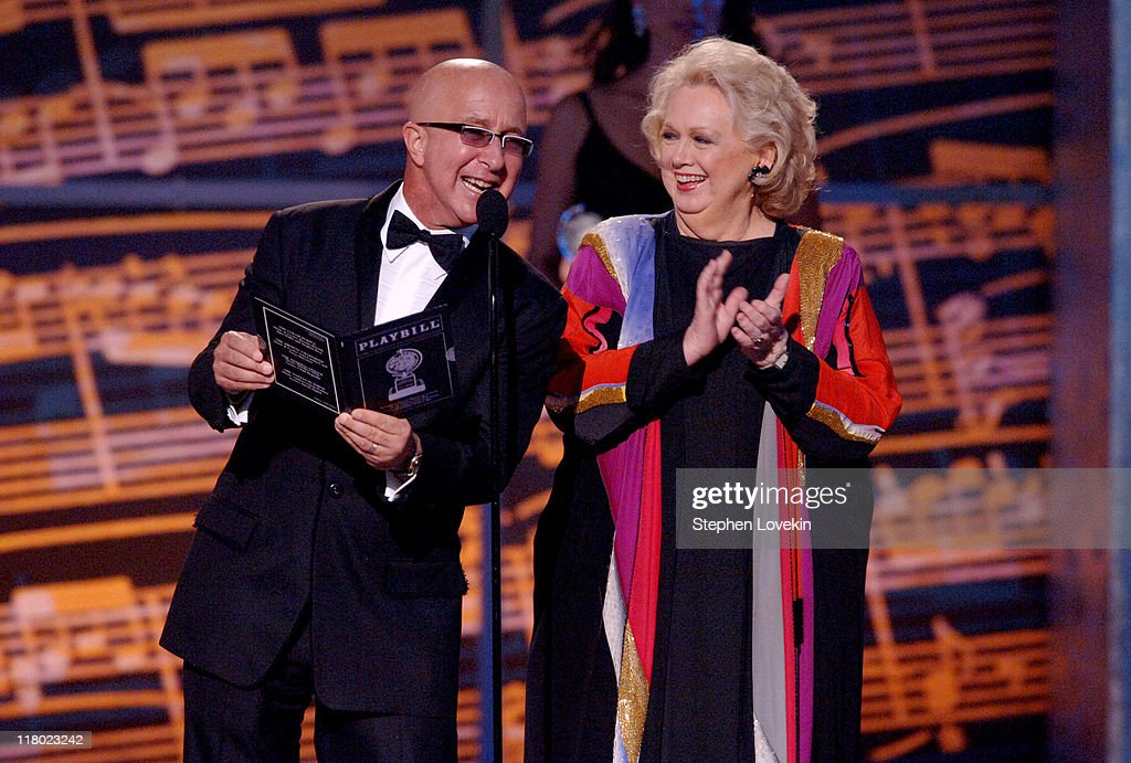 Paul Shaffer and Barbara Cook during 60th Annual Tony Awards - Show at Radio City Music Hall in New York, New York, United States.