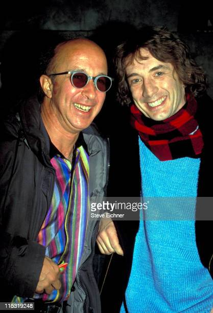 Paul Shaffer and Martin Short during Martin Short at Club USA 1993 at Club USA in New York City New York United States