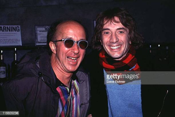 Paul Shaffer and Martin Short during Paul Shaffer Martin Short at Club USA 1993 at Club USA in New York City New York United States