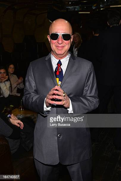 Paul Shaffer attends the DuJour Magazine Spring 2013 Issue Celebration at The Darby on March 27 2013 in New York City