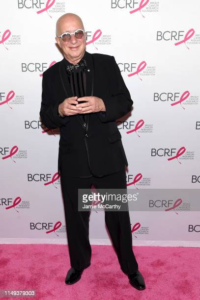 Paul Shaffer attends the Hot Pink Party hosted by the Breast Cancer Research Foundation at Park Avenue Armory on May 15 2019 in New York City