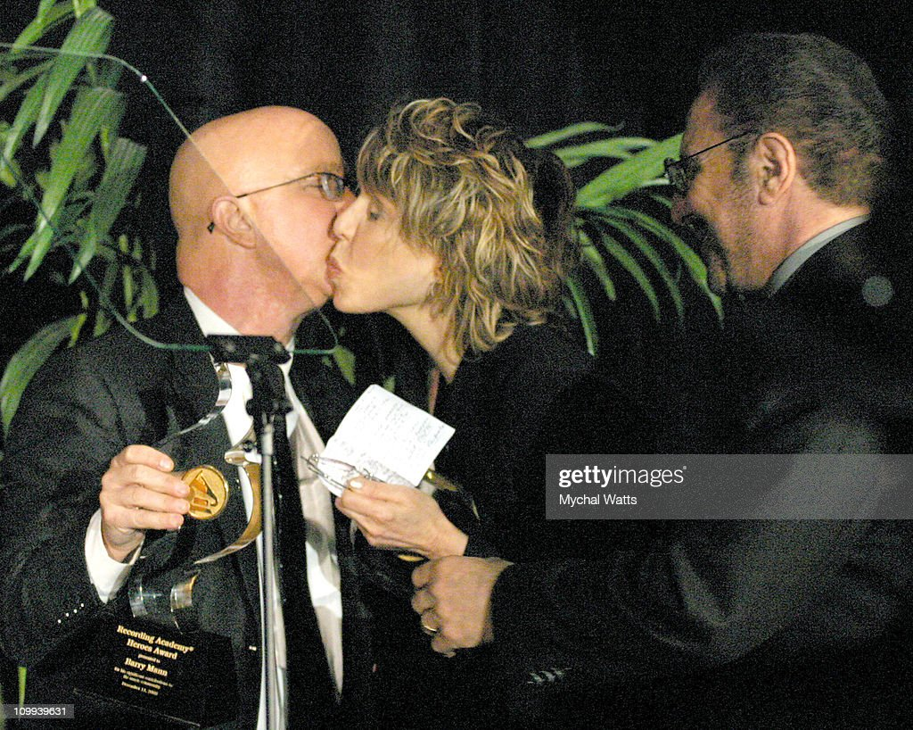 Paul Shaffer, Cynthia Weil and Barry Mann during New York Chapter of The Recording Academy Celebrates Their 2003 Hero's Awards Gala at The Roosevelt Hotel in New York City, New York, United States.