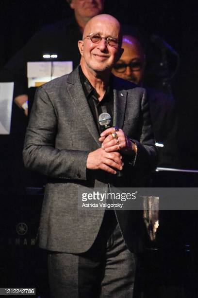 Paul Shaffer on stage during the Fourth Annual LOVE ROCKS NYC benefit concert for God's Love We Deliver at Beacon Theatre on March 12 2020 in New...