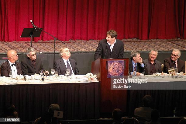 Paul Shaffer Richard Belzer Freddie Roman Jeffrey Ross Jery Lewis Robert De Niro and Martin Scorsese