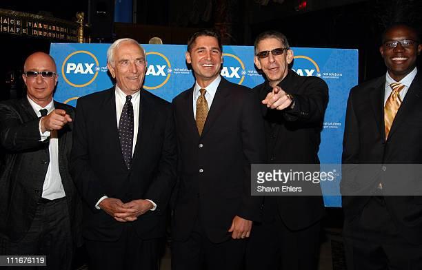Paul Shaffer Senator Frank Lautenburg Dan Gross Richard Belzer and Kwame Jackson