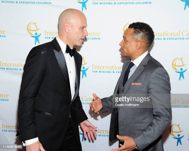 Paul Shapiro and Hill Harper attend ICMEC Gala for Child Protection at Gotham Hall on May 2, 2019 in New York City.