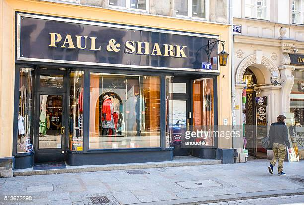 Paul & Shark Store in Krakow, Poland