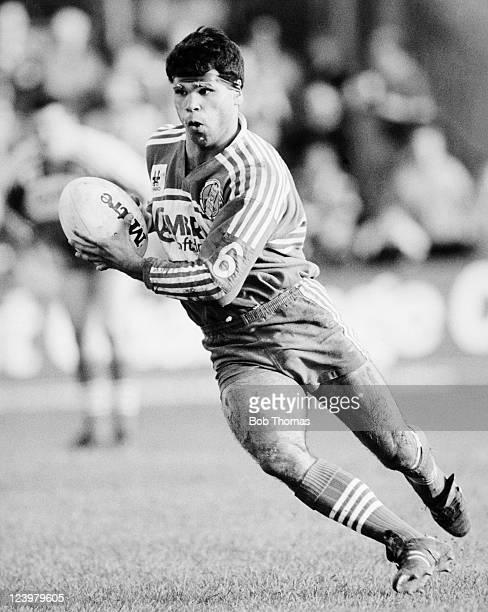 Paul Shaw of Salford Rugby League circa 1980