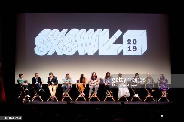 Paul Simms, Jemaine Clement, Taika Waititi, Stefani Robinson, Matt Berry, Kayvan Novak, Natasia Demetriou, Harvey Guillén, Mark Proksch, and Beanie...