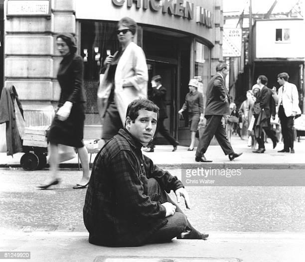 Paul Simon 1965 in London