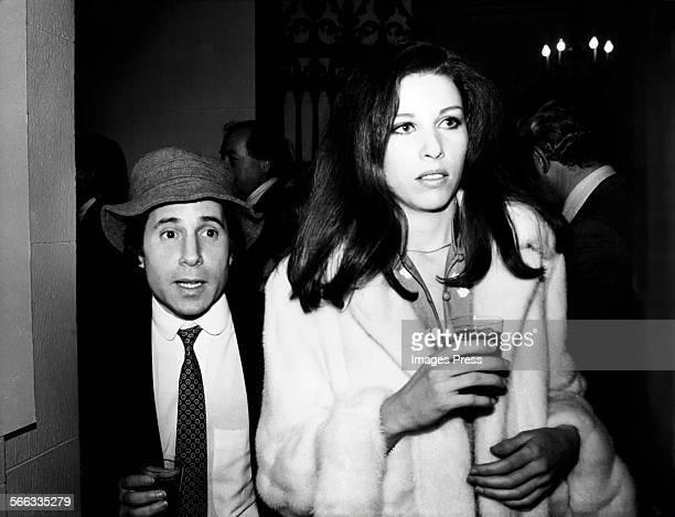 Paul Simon and Andrea de Portago circa 1970s in New York City