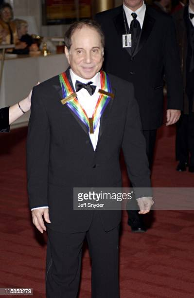 Paul Simon during Kennedy Center Honors 2002 at Kennedy Center in Washington, DC, United States.