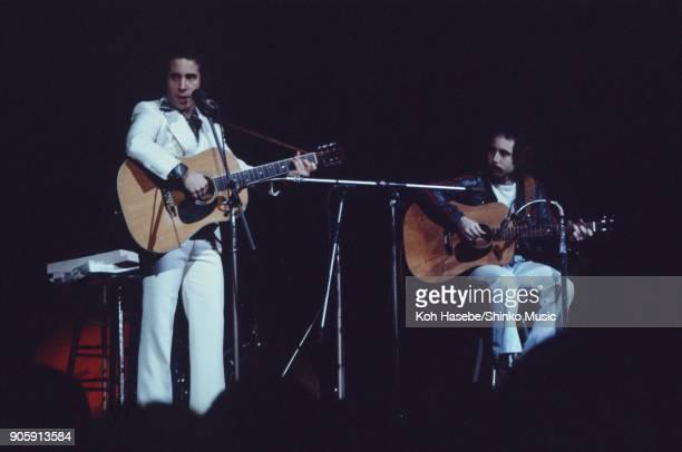 Paul Simon live at Osakajyo Hall April 1st 1974 Osaka Japan Paul Simon Eddy Simon
