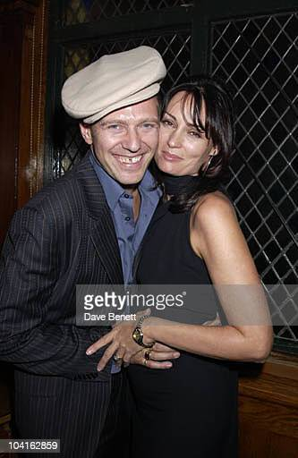 Paul Simonon And His Wife Trisha The Ex Clash Guitarist Paul Simonon Held His Major Exhibition Of His Latest Work Of Scenes Of London Which He's Been...