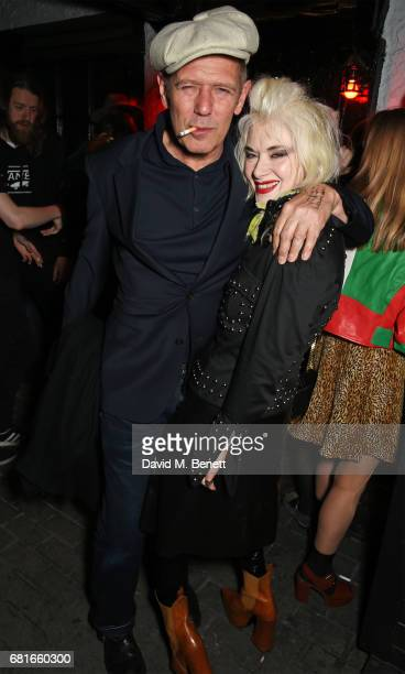 Paul Simonon and Pam Hogg attend the FOXES Magazine party celebrating the launch of their 3rd issue with co-host and cover star Pam Hogg and with...