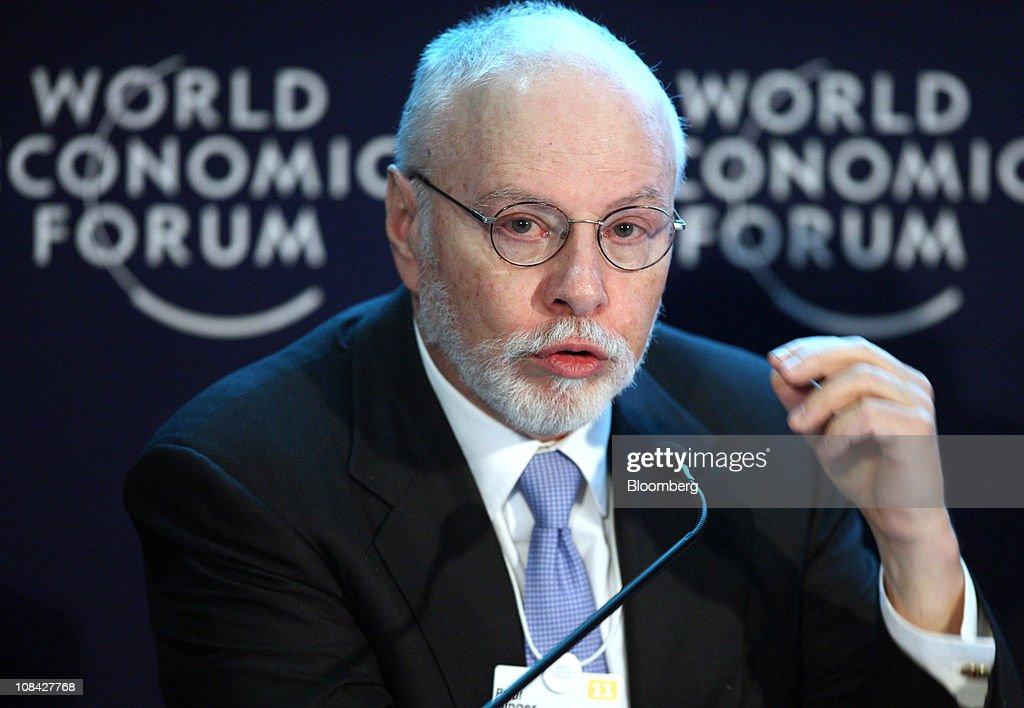 Davos World Economic Forum (WEF) 2011 : News Photo