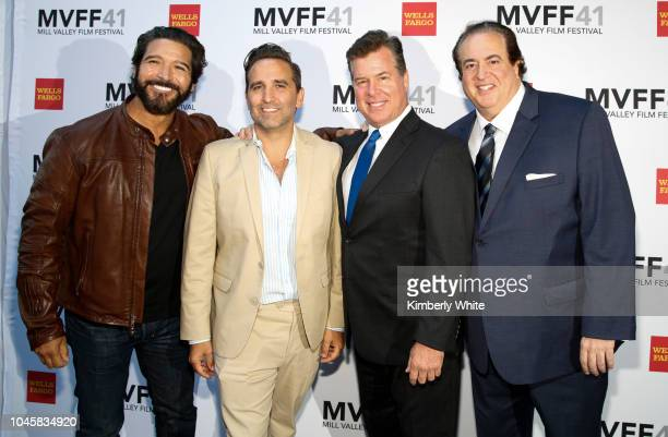Paul Sloan Mike Hatton Brian Hayes Currie and Nick Vallelonga attend the 41st Mill Valley Film Festival Opening Night Gala Premieres Of Green Book...