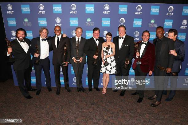 Paul Sloan Peter Farrelly Kwame Parker Viggo Mortensen Brian Currie Linda Cardellini Nick Vallelonga Mike Hatton Mahershala Ali recipients of the...