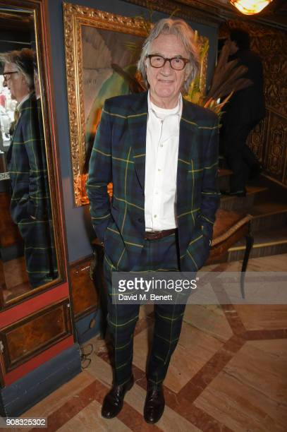 Paul Smith attends the Paul Smith Malgosia Bela AW18 Lunch on January 21 2018 in Paris France