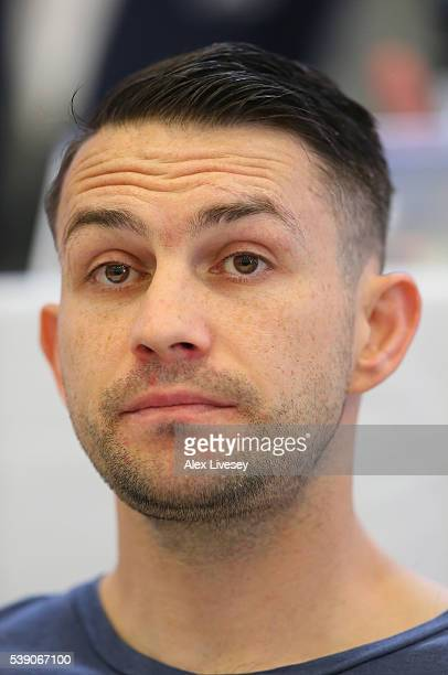 Paul Smith during a press conference at the Royal Liver Building on May 26 2016 in Liverpool England