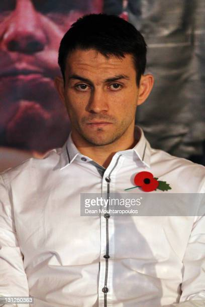 Paul Smith of England speaks to the media at the Ricky Burns and Michael Katsidis Press Conference at Wembley Arena on November 3 2011 in London...