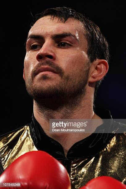 Paul Smith of Liverpool looks on prior to the James DeGale of Harlsden in their SuperMiddleweight Championship of the World fight during the Frank...