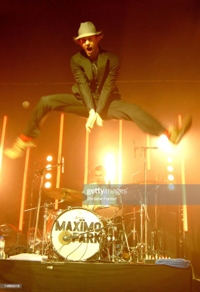 Paul Smith of Maximo Park at the The Academy in Manchester, United Kingdom.