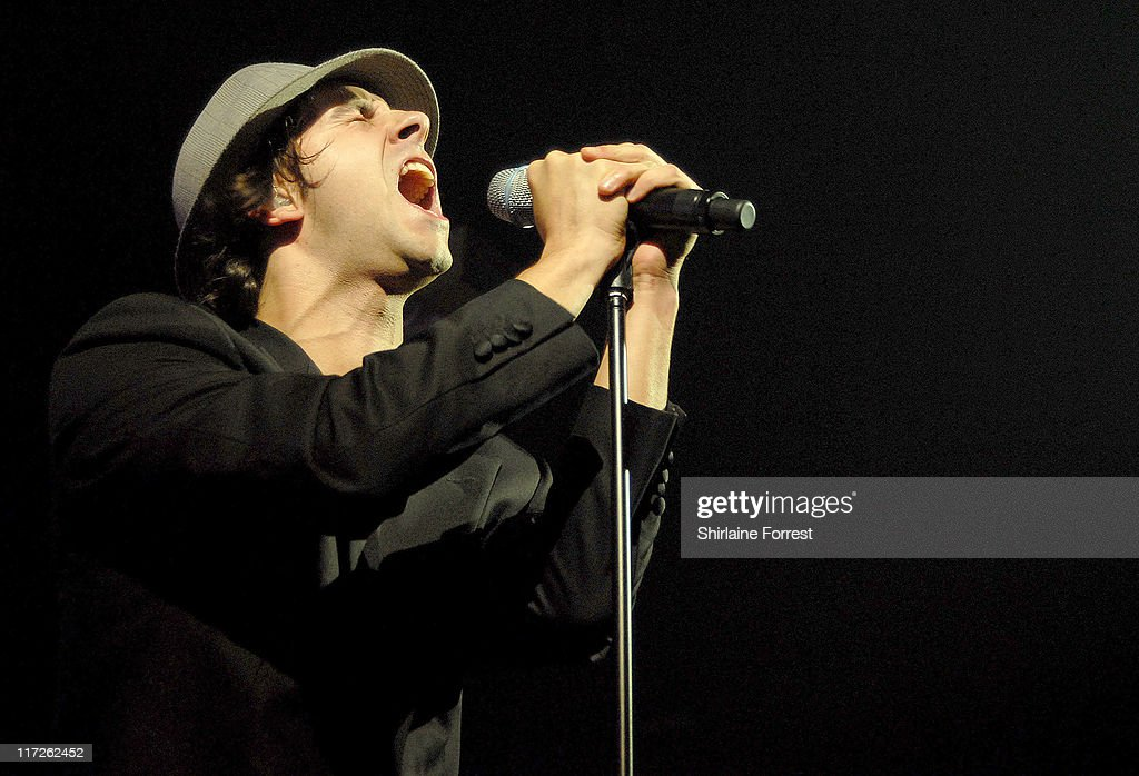Paul Smith of Maximo Park during Maximo Park In Concert at The Academy - October 1, 2006 at The Academy in Manchester, Great Britain.