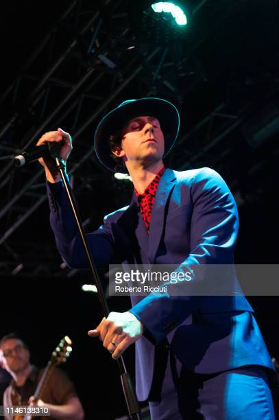 Paul Smith of Maximo Park performs onstage at The Liquid Room on May 24, 2019 in Edinburgh, Scotland.