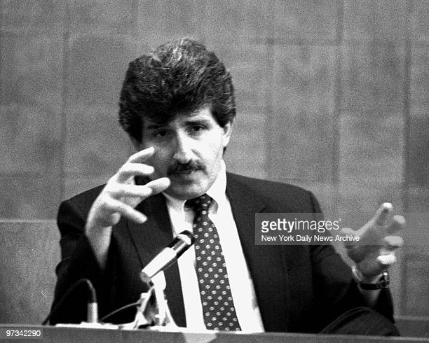 Paul Solomon as he testified in the Carolyn Warmus trial at Westchester County White Plains Courthouse