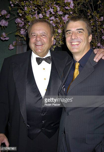 Paul Sorvino and Chris Noth during The National Arts Club Honoring Paul Sorvino with their Medal of Honor in Film at The National Arts Club in New...