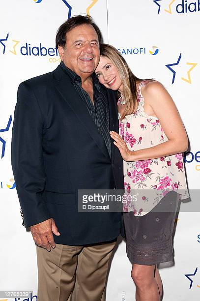 Paul Sorvino and daughter Mira Sorvino attend the Diabetes costars cookoff at Hudson River Park Pier 57 on September 30 2011 in New York City