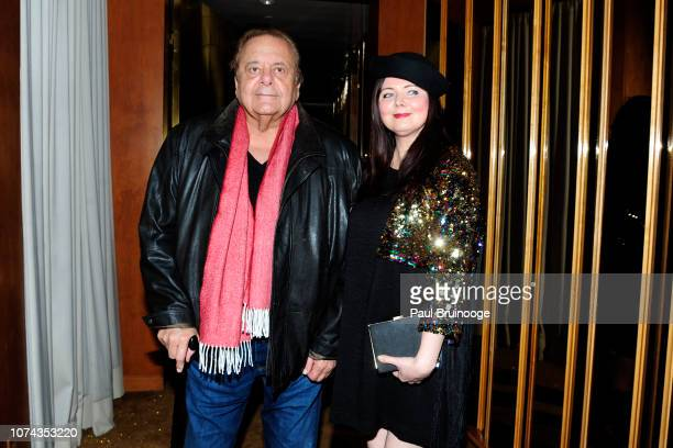 Paul Sorvino and Dee Dee Sorvino attend The Cinema Society With FIJI Water Lindt Chocolate Entertainment Weekly People Host The After Party For...