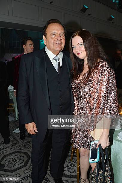 Paul Sorvino and Dee Dee Benkie attend the Museum Of The Moving Image 30th Annual Salute Honoring Warren Beatty at 583 Park Avenue on November 2 2016...